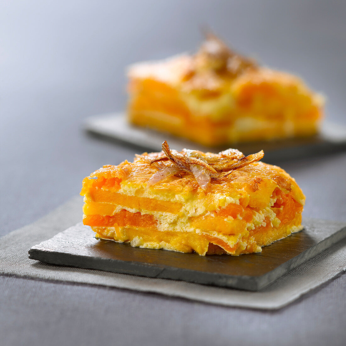 Pumpkin and sweet potato bake