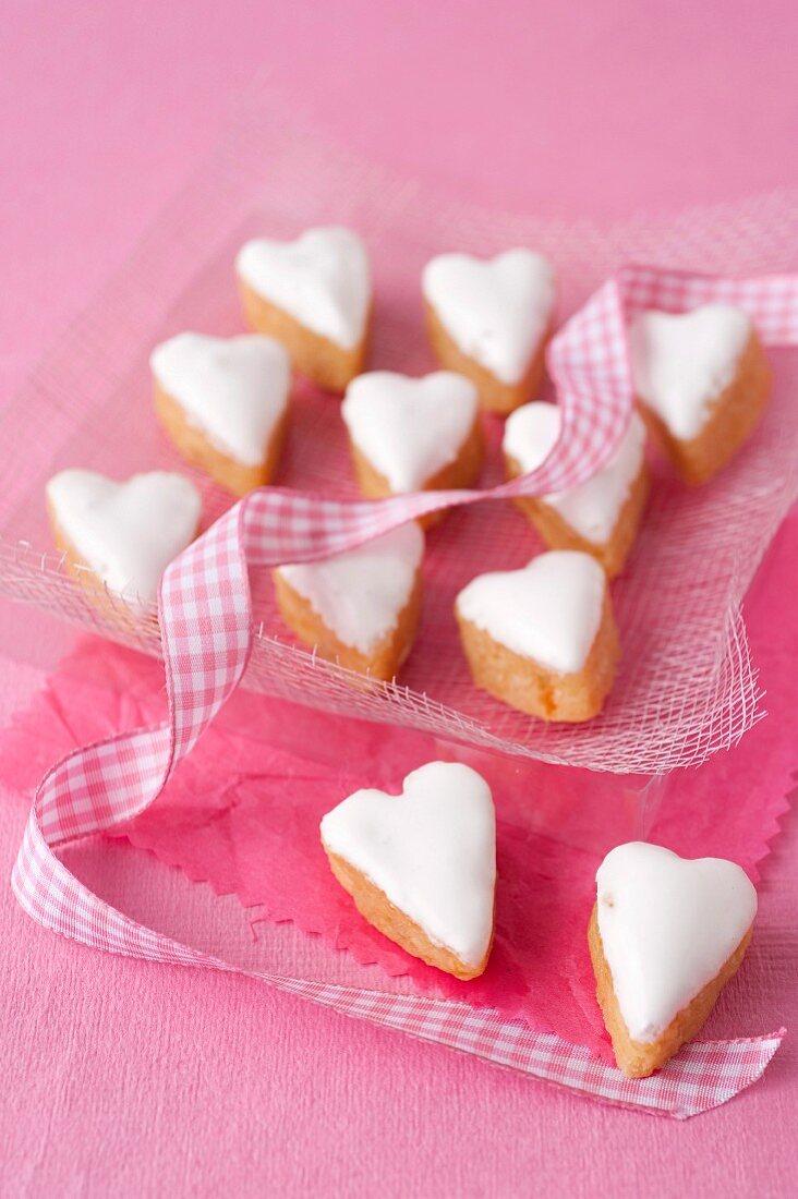 Heart-shaped Calissons