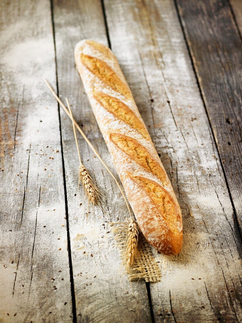 Traditional Flute bread