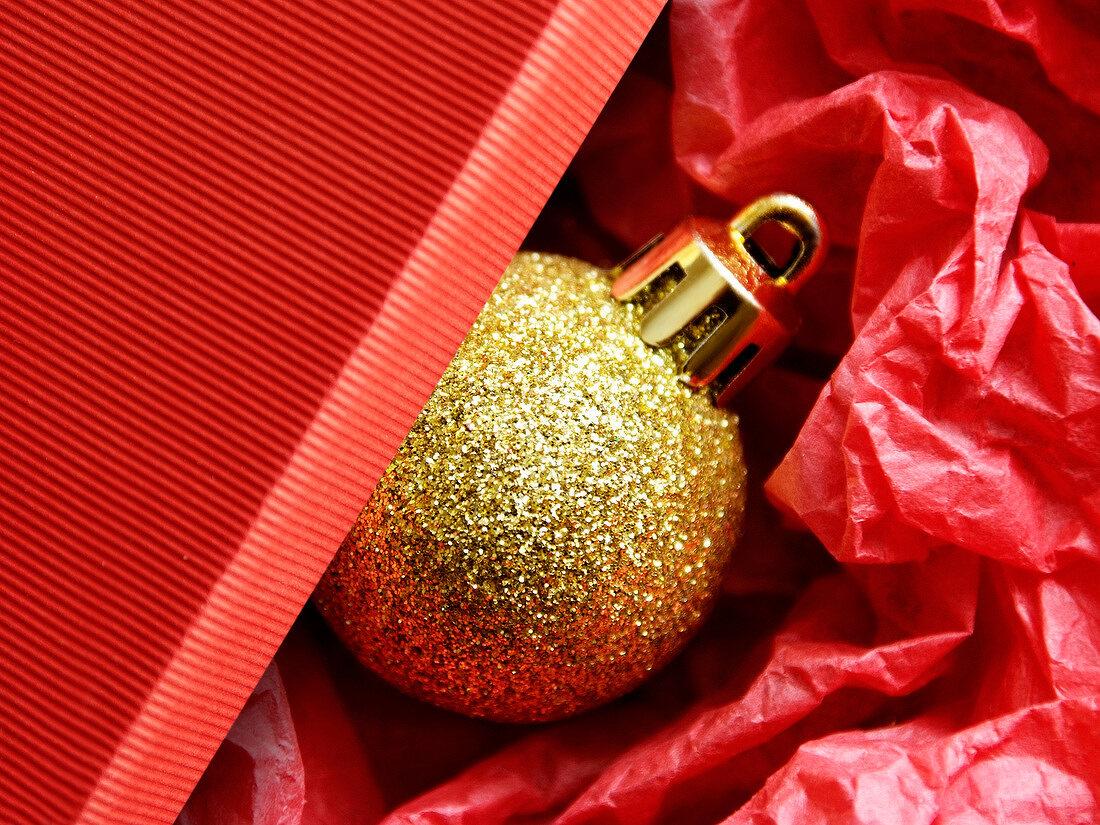 Golden Chritmas decoration