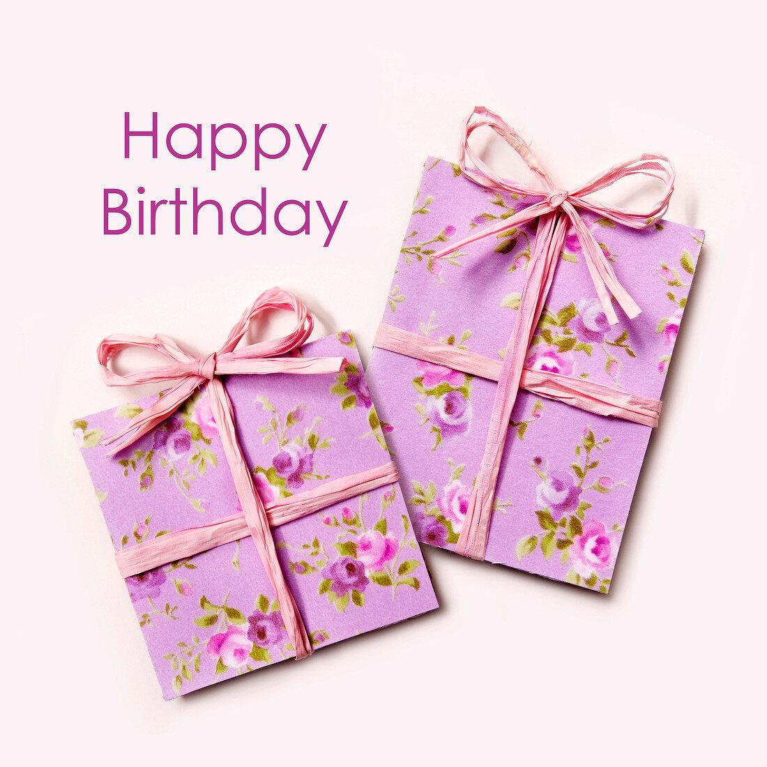 Pink Birthday presents