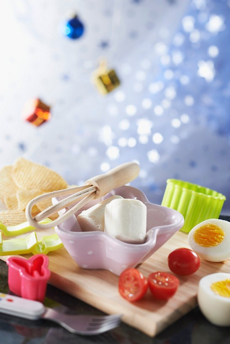 Cooking atmosphere for kids