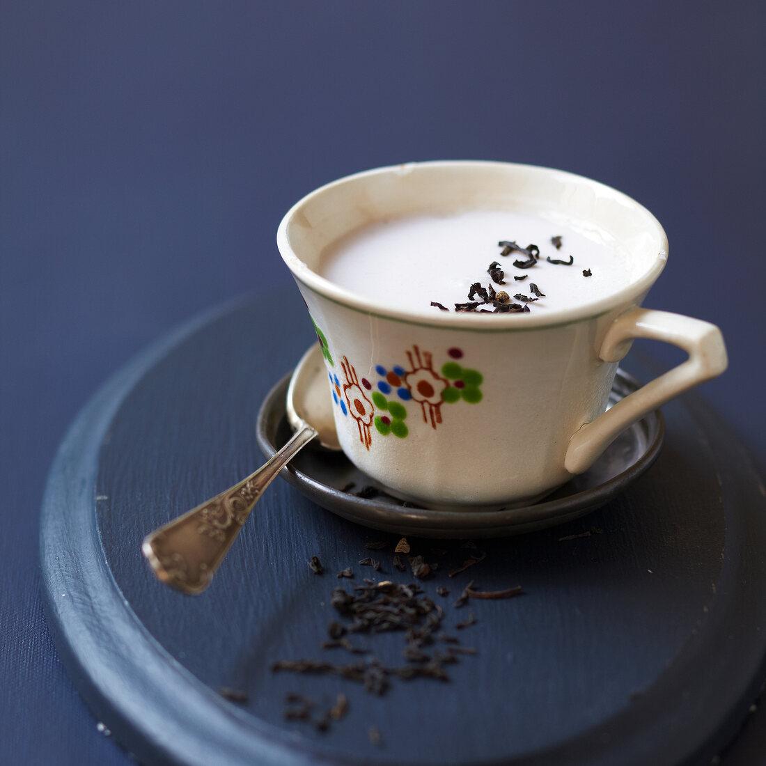 moked tea yoghurt