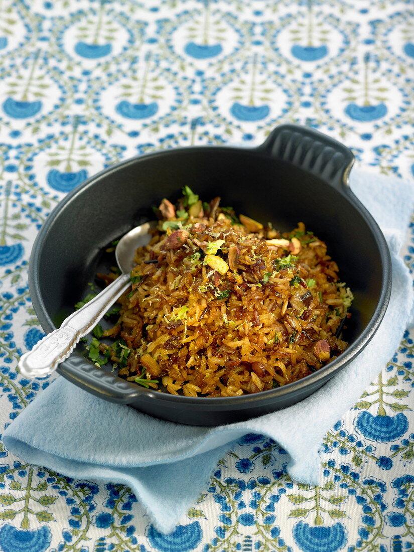 Garam Massala rice