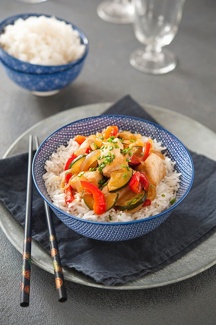 Chinese-style chicken