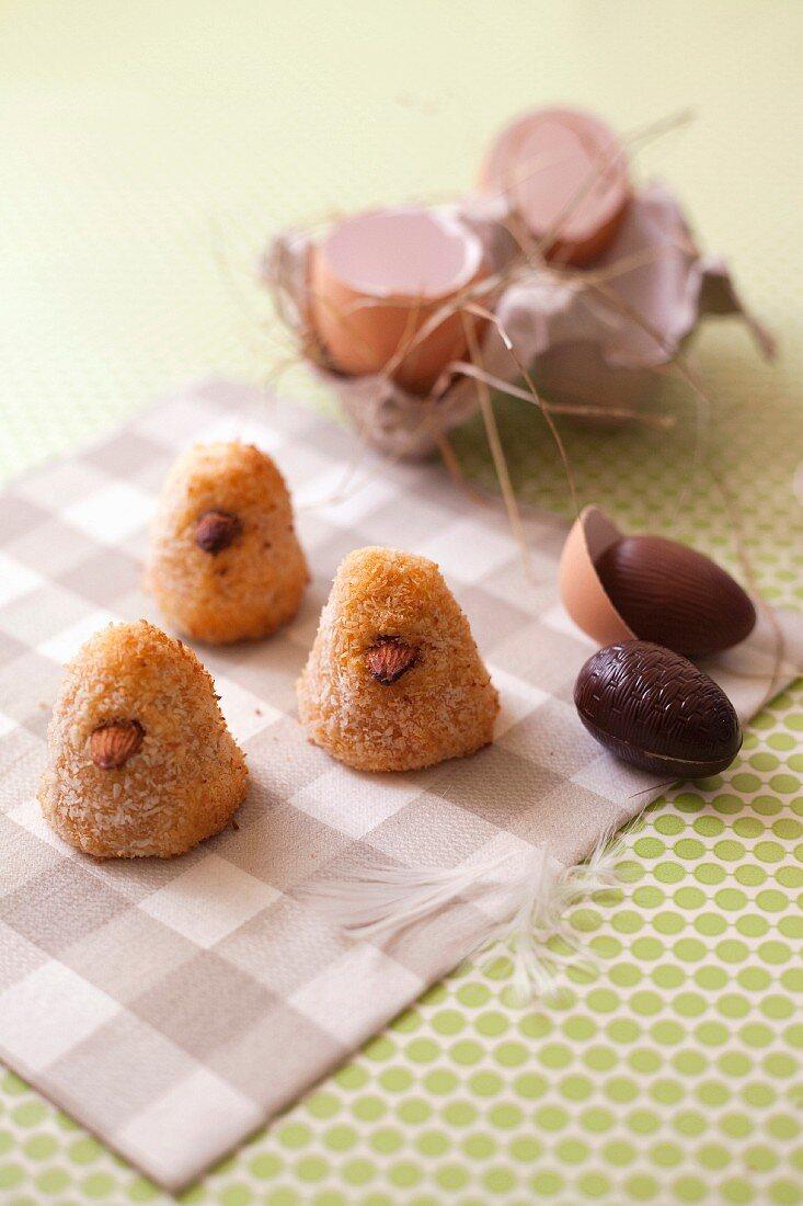 Coconut chicks