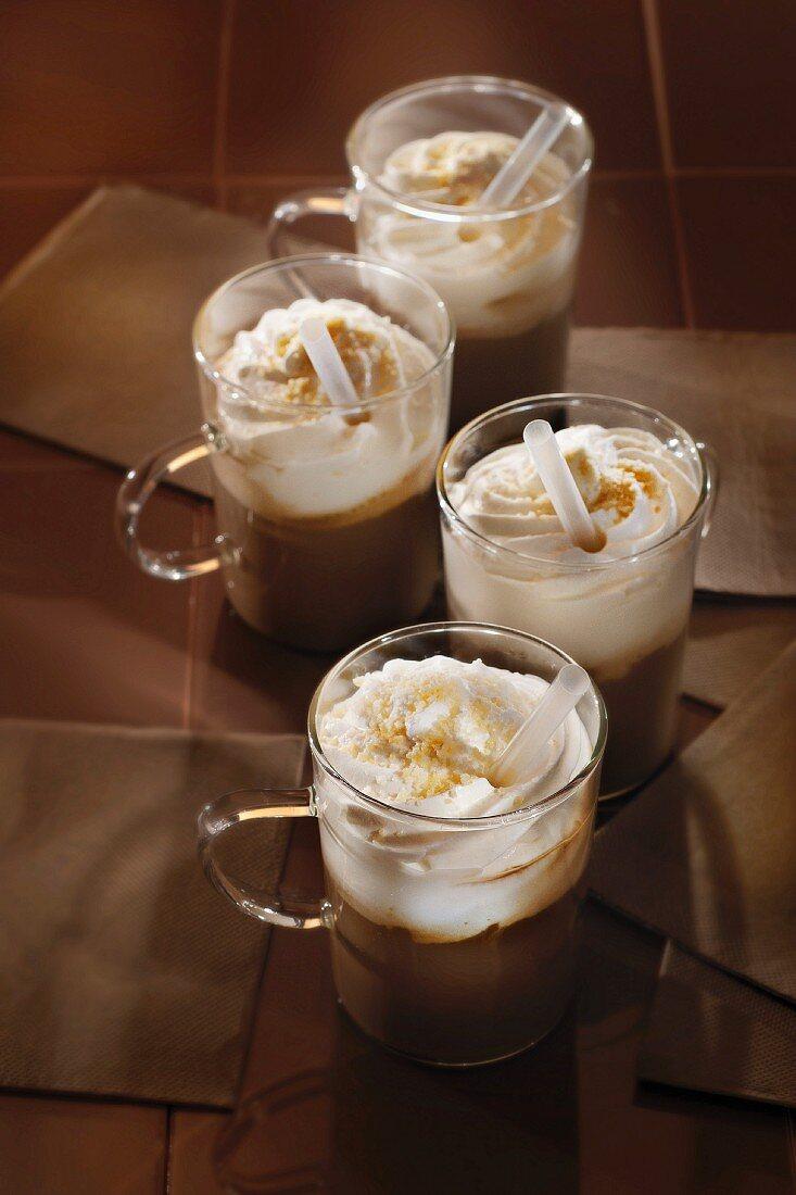 Spanish coffee cocktail