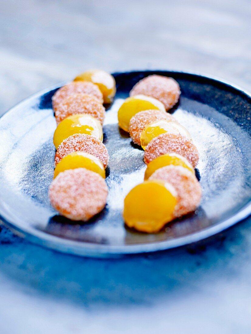 Confit citrus fruit sweets by Christophe Felder