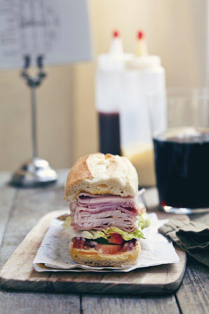 New York hero sandwich