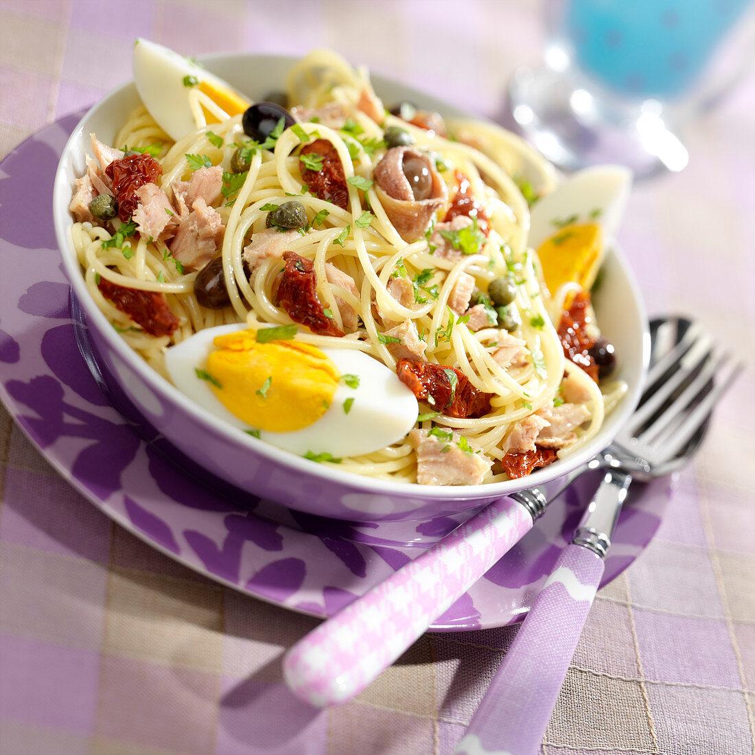 Spaghettis Niçois