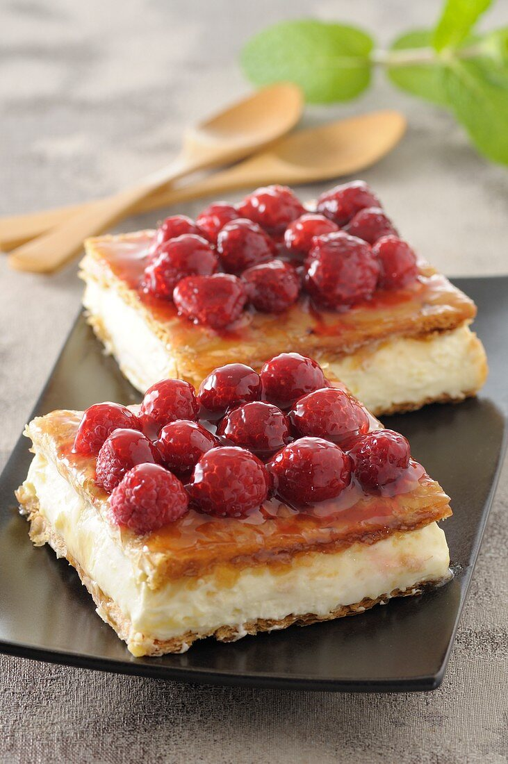 Raspberry Mille-feuille