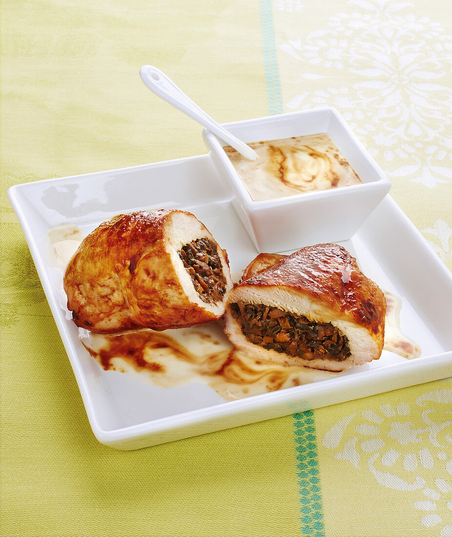 Chicken and Mushroom Paupiette