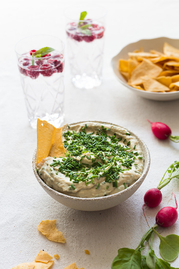 Onion And Chive Dip