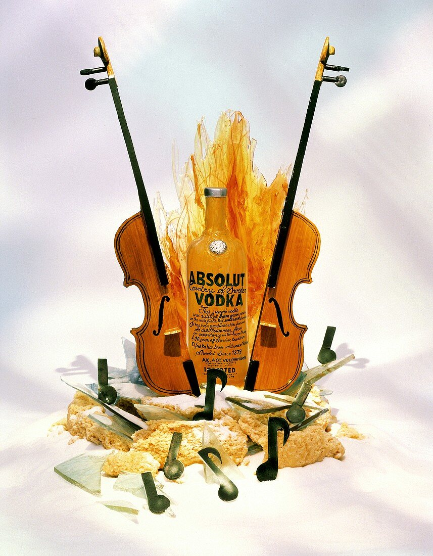 The Musical Still Life of Absolut Vodka