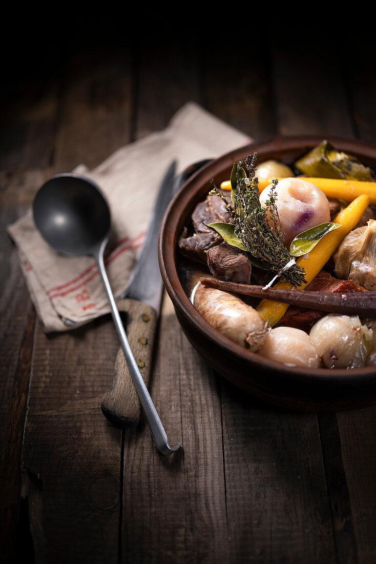 Traditional Pot-au-feu