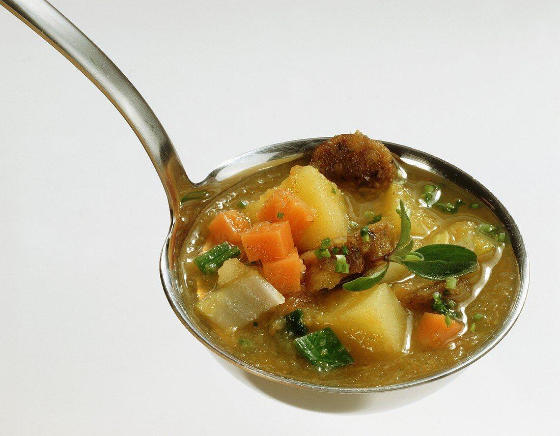 Franconian Potato Soup