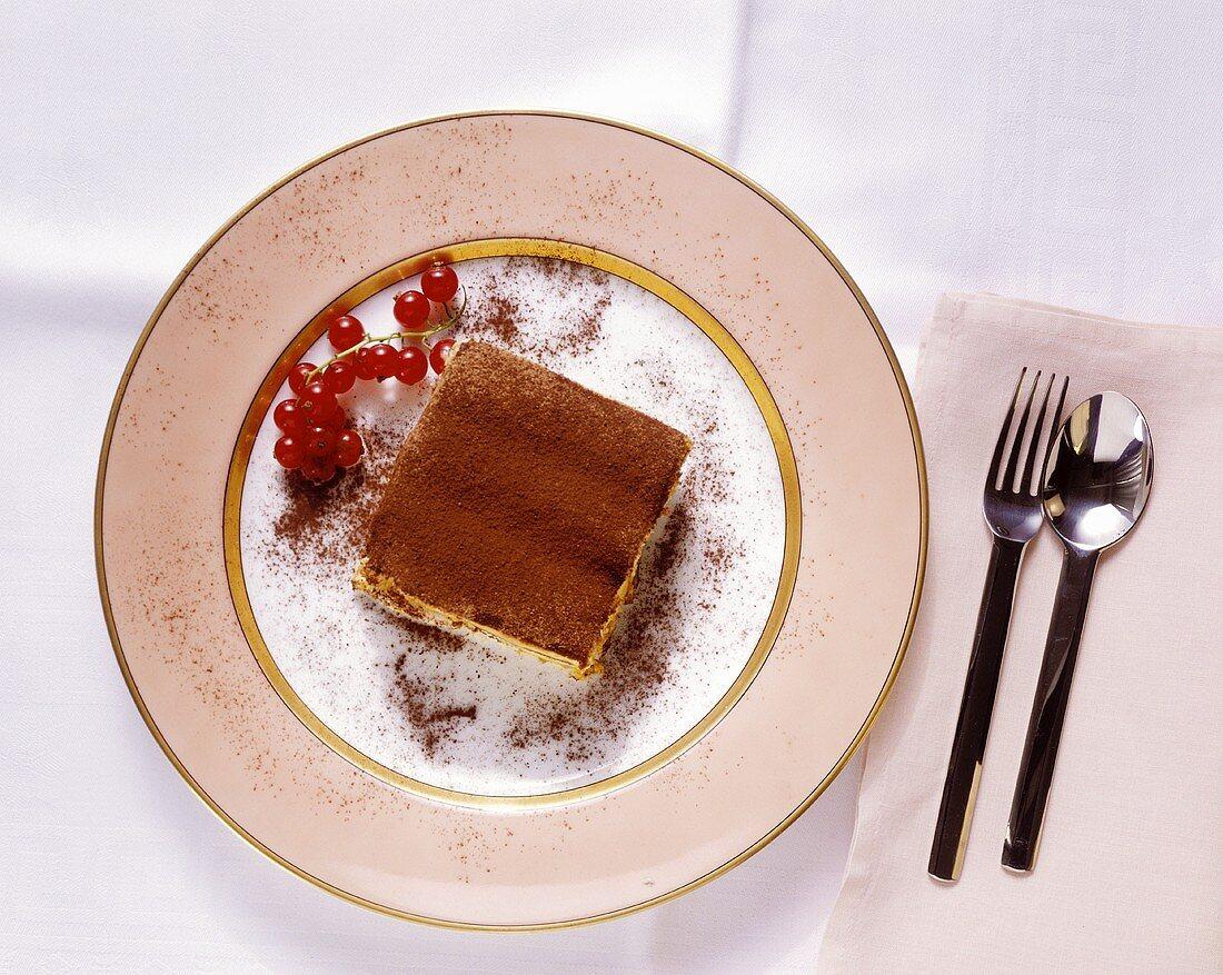 Tiramisù (coffee & mascarpone dessert), Latium, Italy