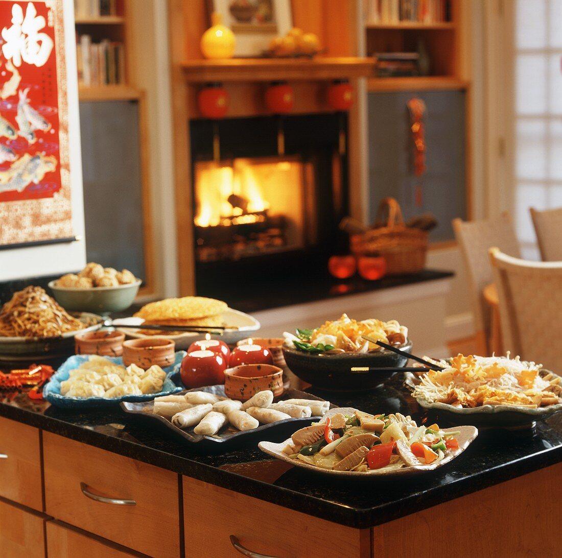 Asian New Year Buffet