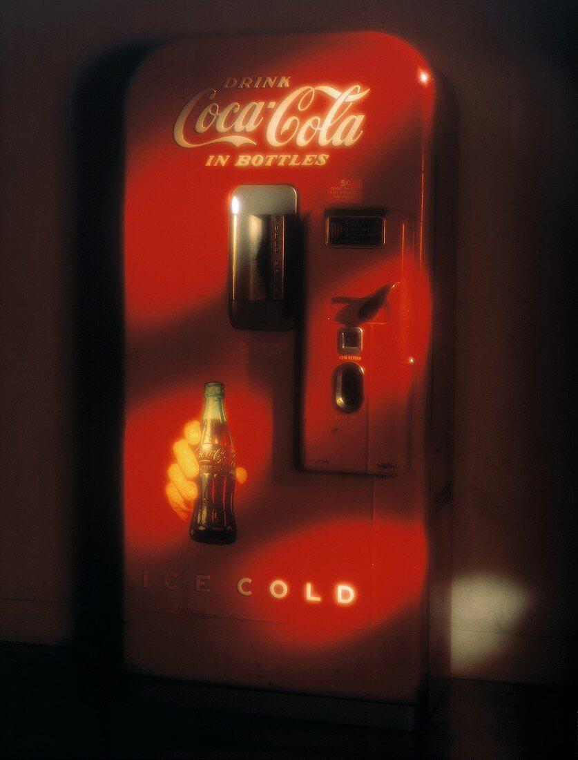 Antique Coca-cola Machine