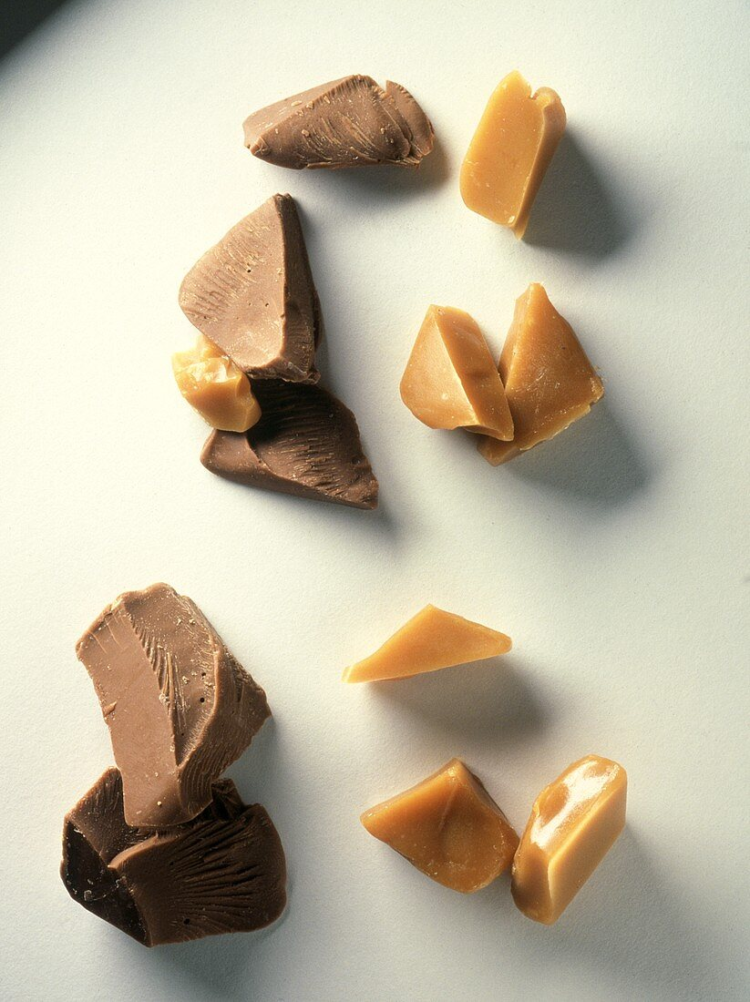 Chocolate and Toffee Pieces
