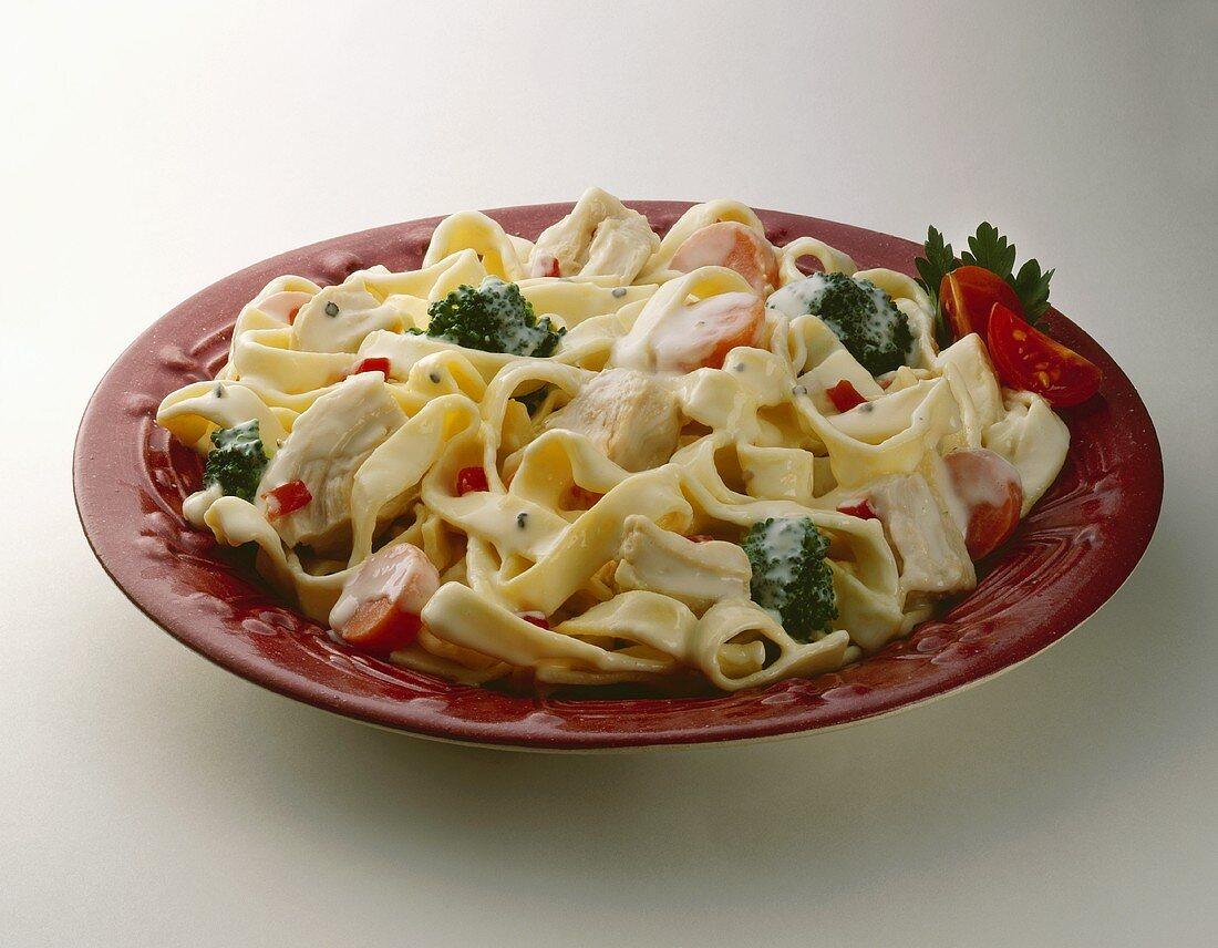 Chicken Fettucine Alfredo