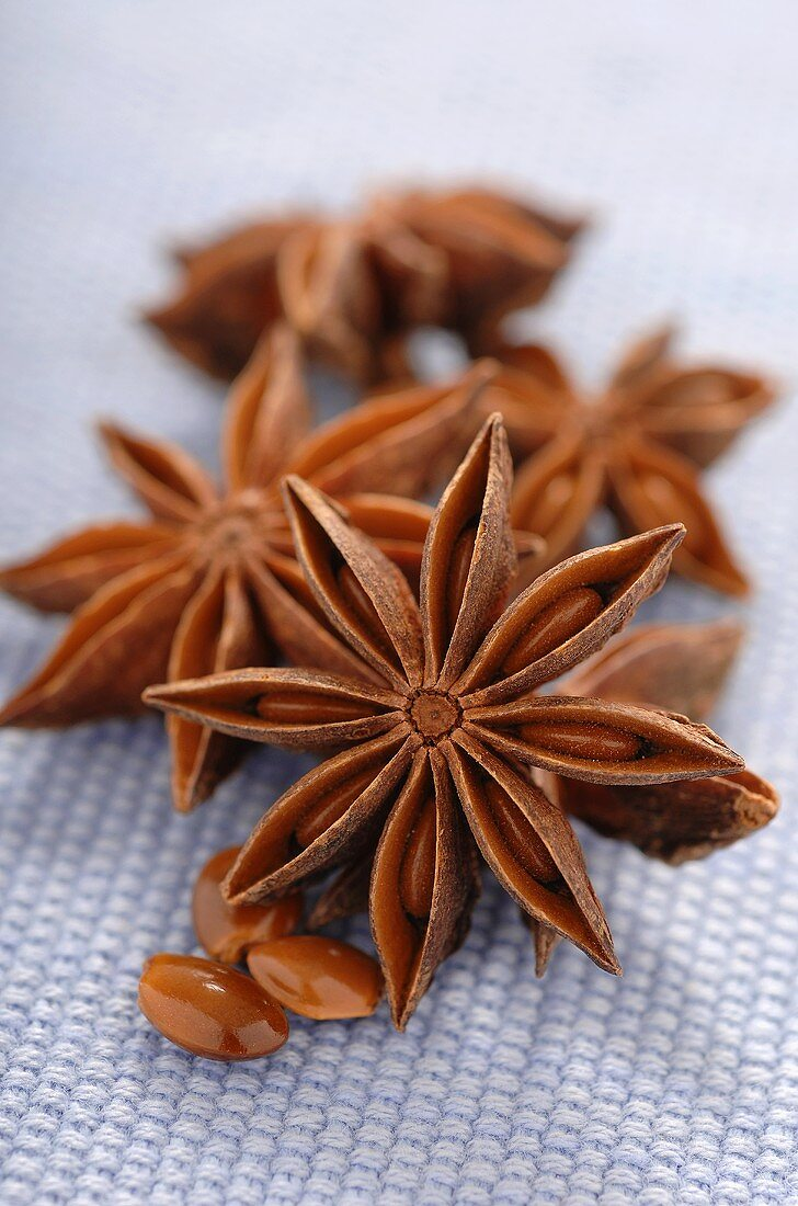 Close Up of Star Anise