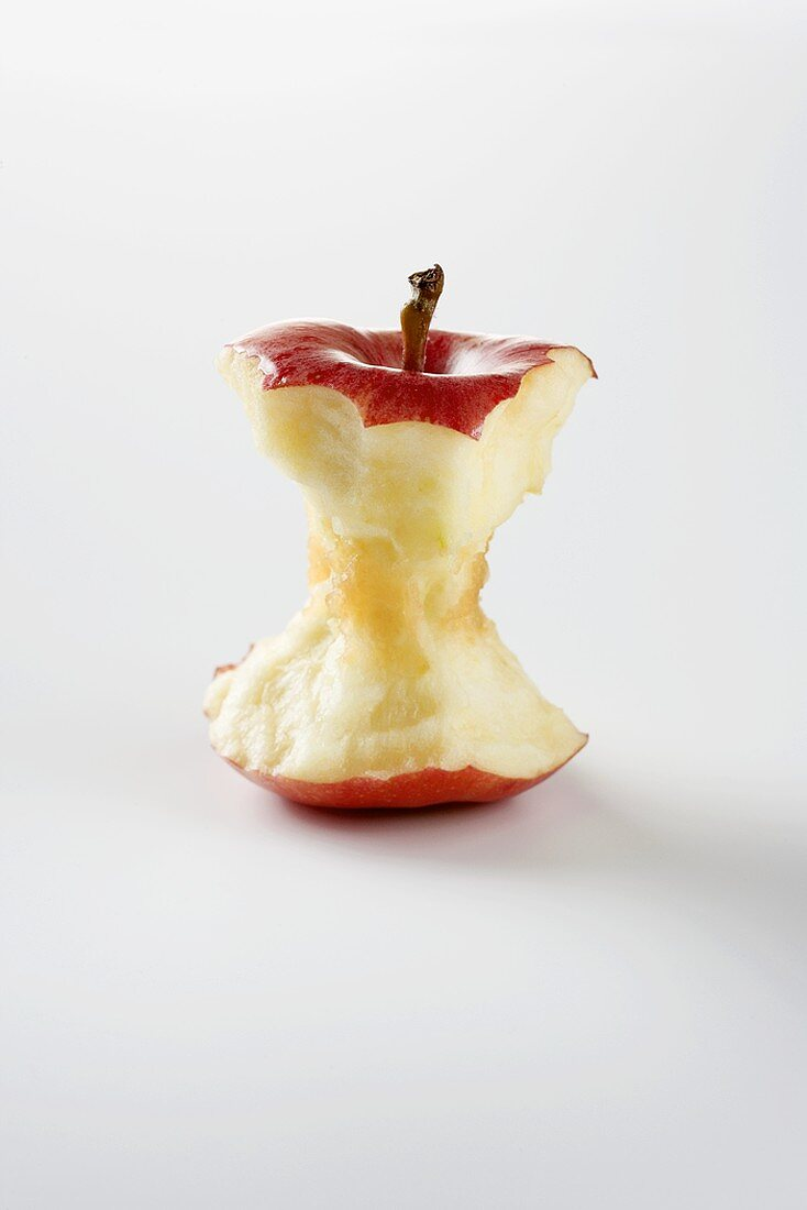 An Apple Eaten Down to the Core