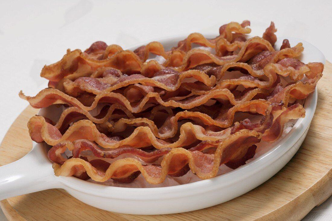 Many Crispy Strips of Bacon