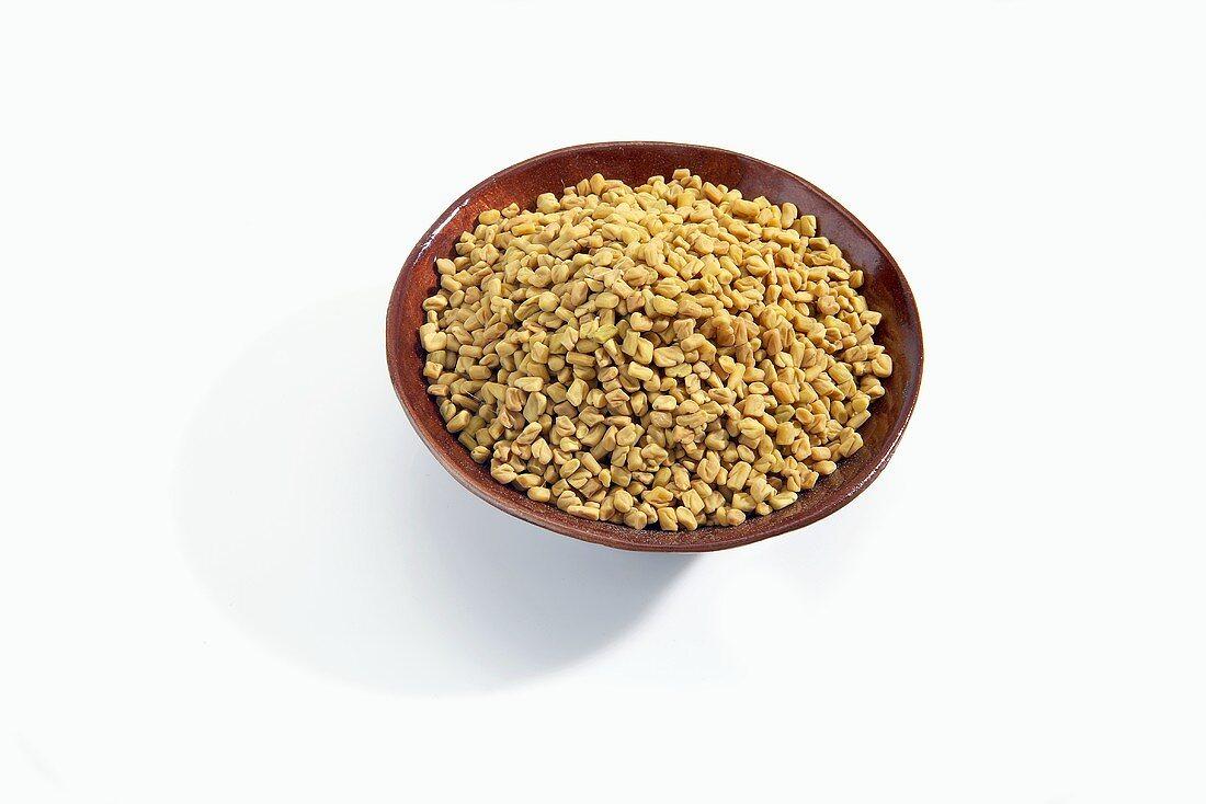Fenugreek Seeds in a Bowl
