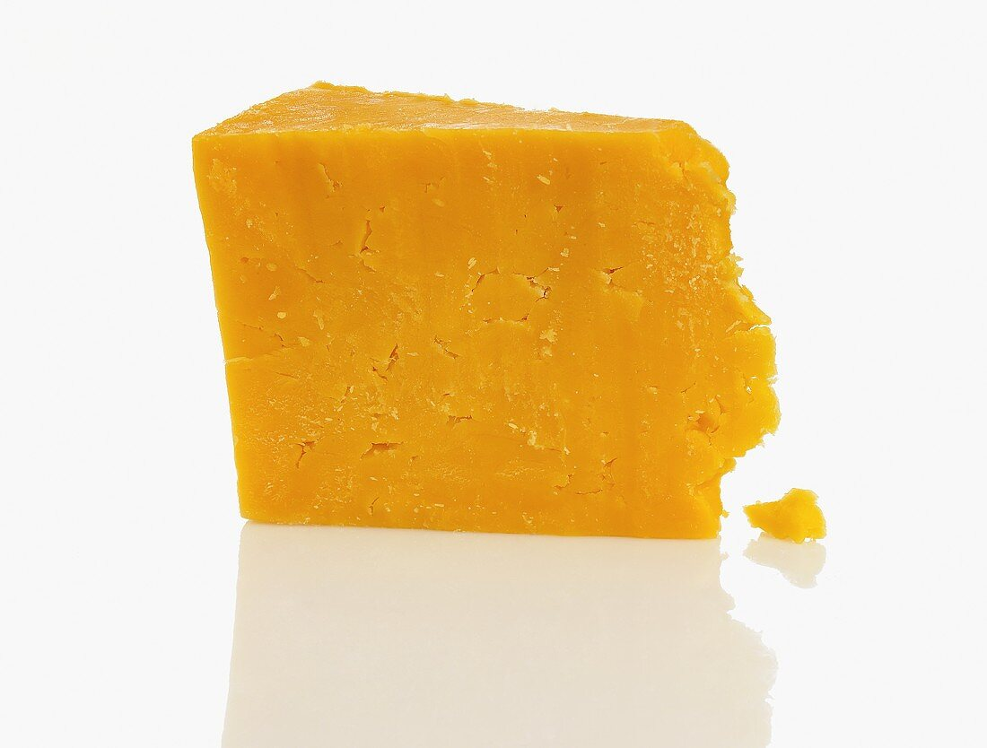 A Wedge of Orange Cheddar
