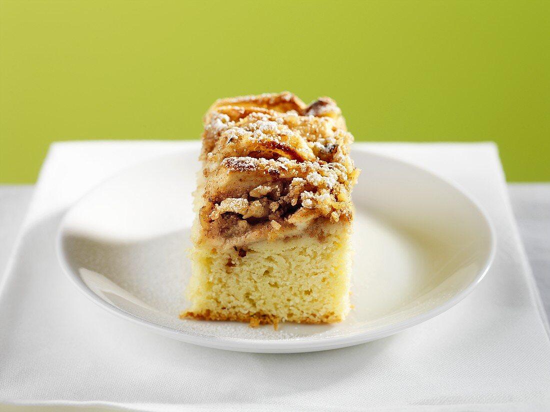 A Piece of Apple Coffee Cake