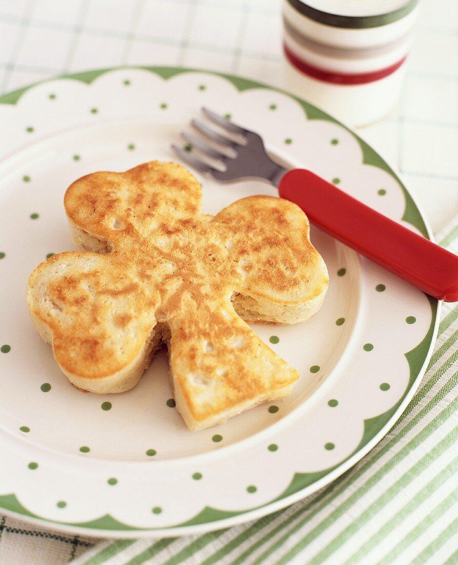 Shamrock pancake (Ireland)