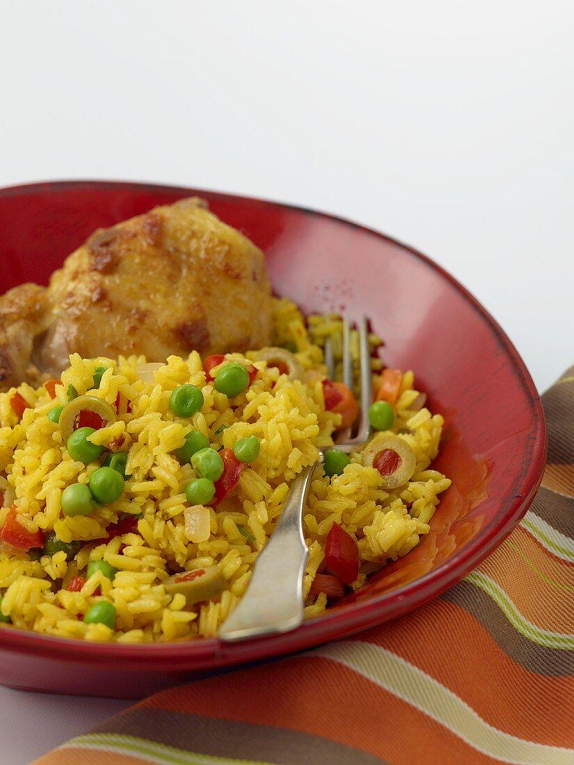 Arroz Con Pollo (Spanish Chicken and Rice)