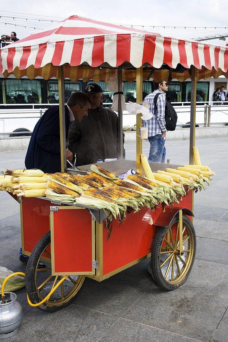 Corn Stall; Istanbul, Turkey