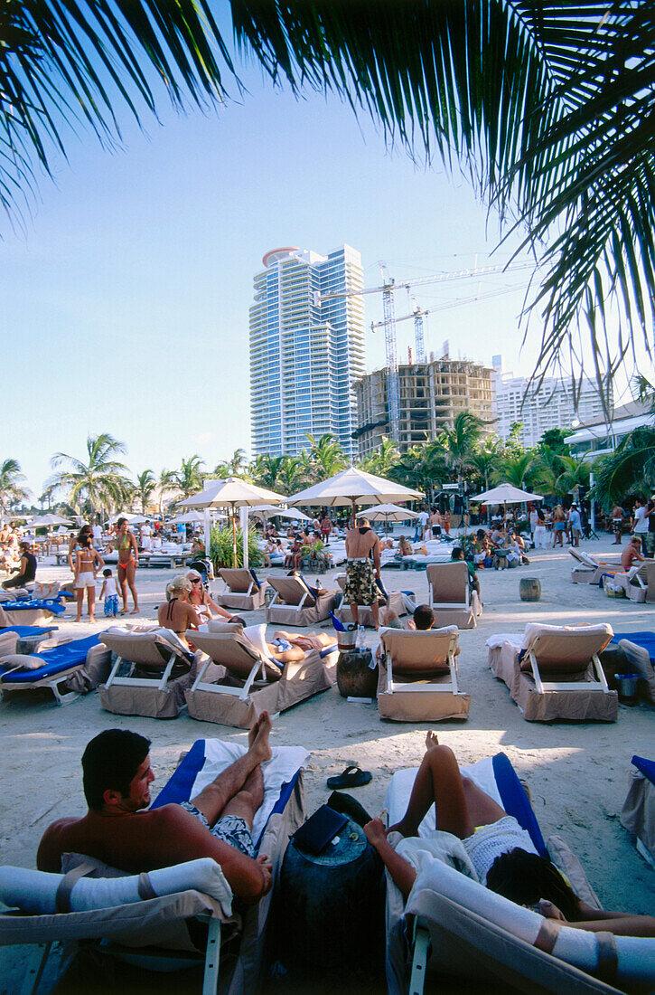 Nikki Beach Club, South Beach, Miami, Florida, USA