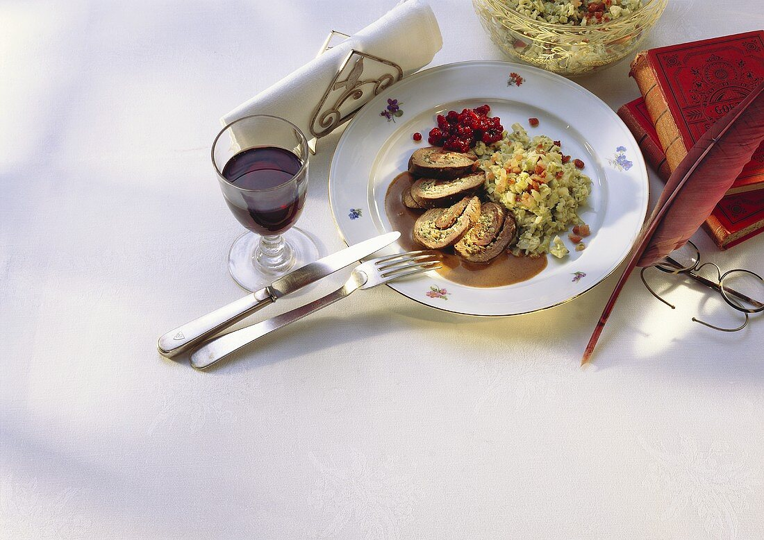 Stuffed Hare Fillet from Thuringia