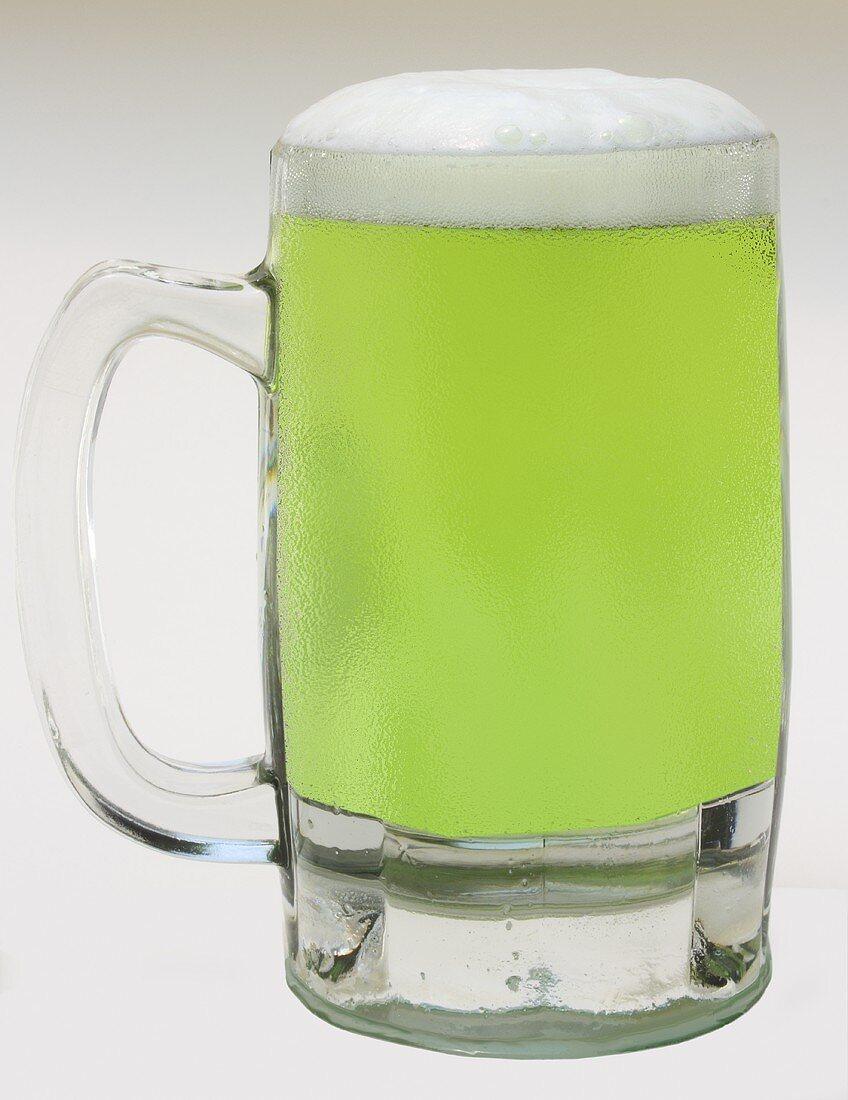 Cold Mug of Green Beer