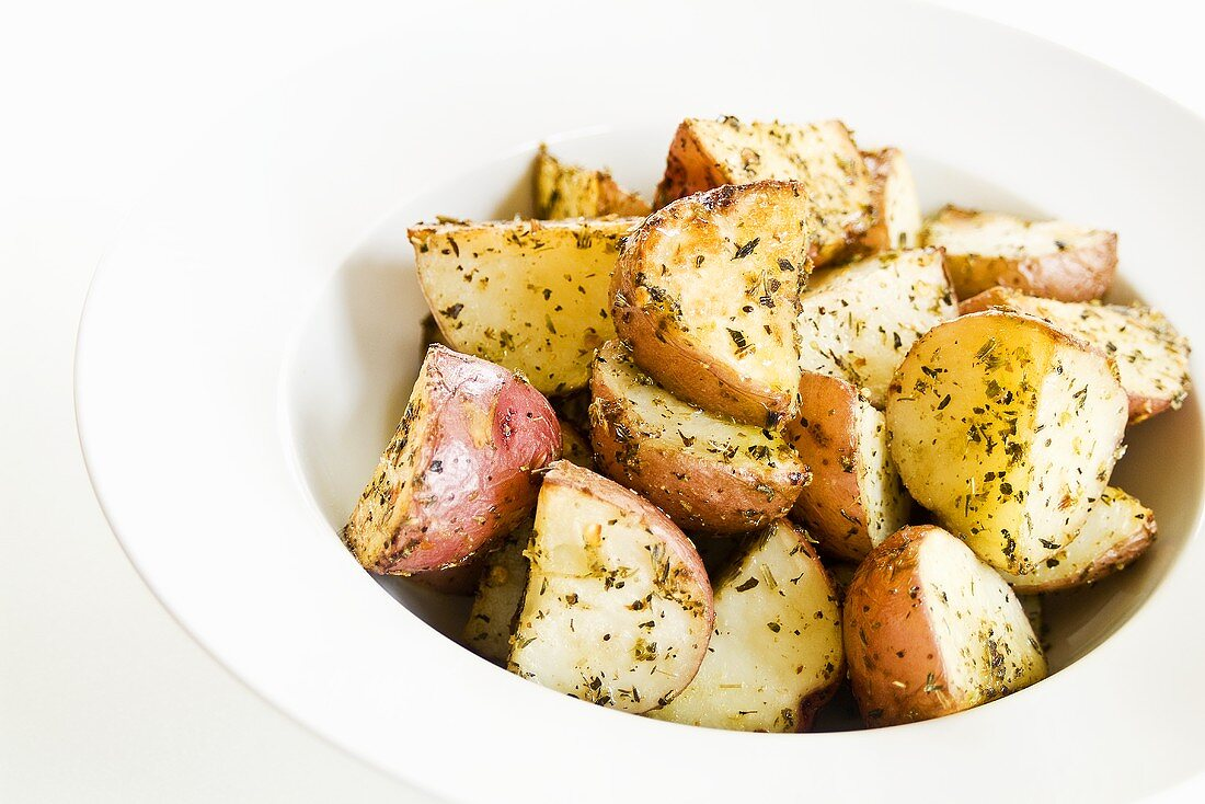Oven Roasted New Red Potatoes