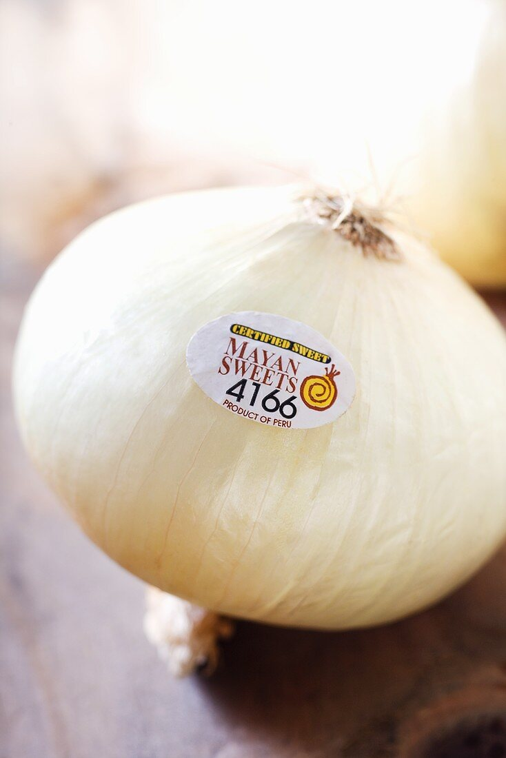 Mayan Sweet Onion with Sticker Label