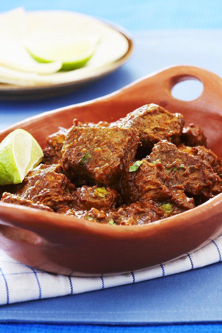 Carne Adovada; New Mexican Chili Pork