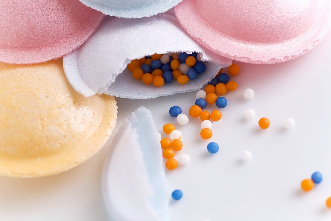 Flying Saucer Candies