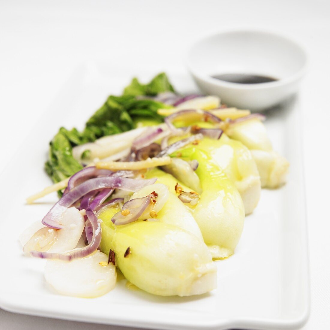 Baby Bok Choy with Onions