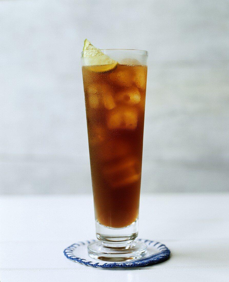 Long Island Ice Tea in a Tall Glass