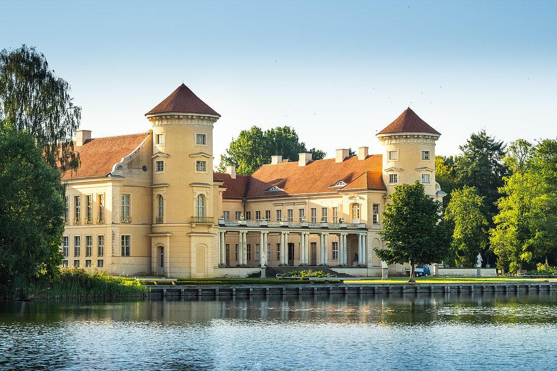 Schloss Rheinsberg, Rheinsberg, Brandenburg, Deutschland