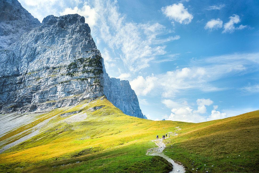 Wandern im Karwendel, Eng, Österreich
