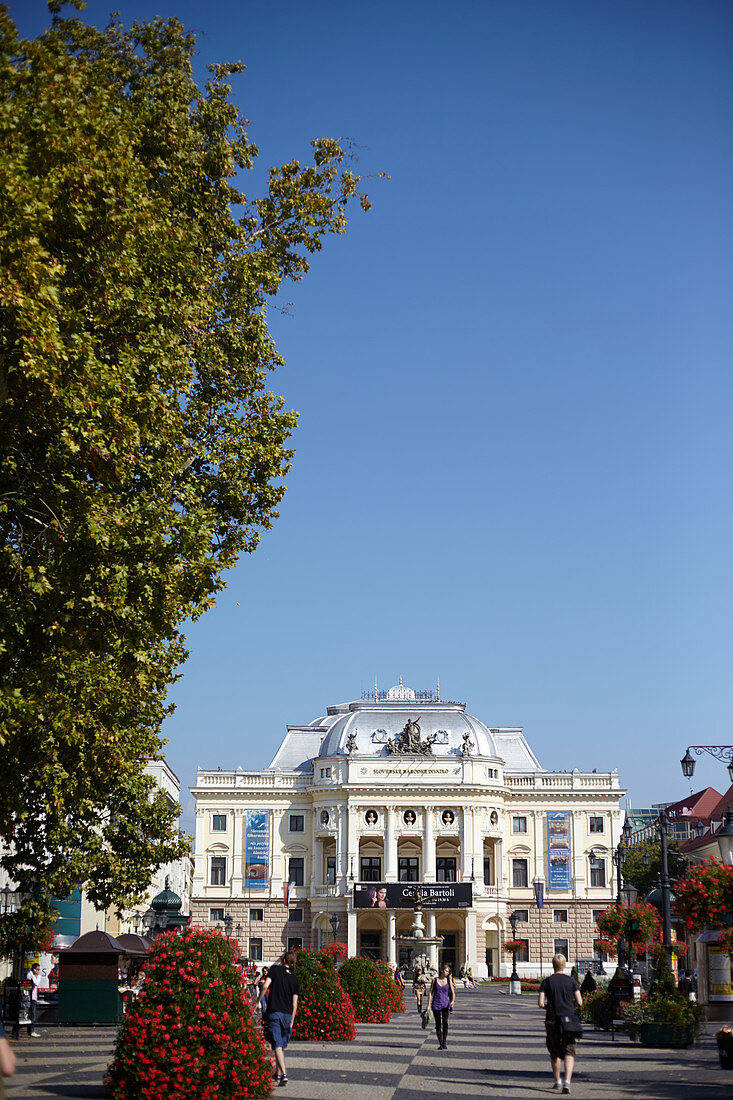Nationaltheater am Hviezdoslav-Platz, Bratislava, Slowakei