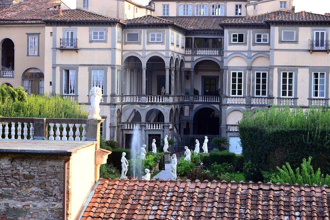 in Lucca, Toskana, Italien