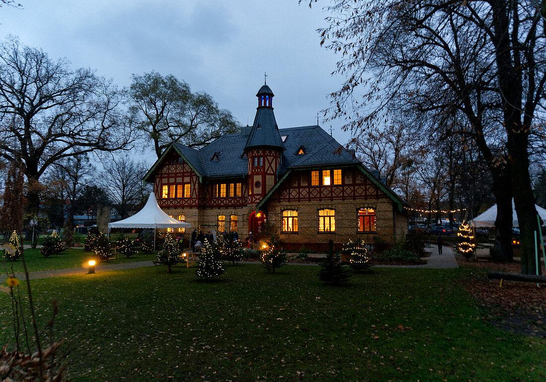 Villa in Bornstedt, Kindergarten, Potsdam, Land Brandenburg, Deutschland