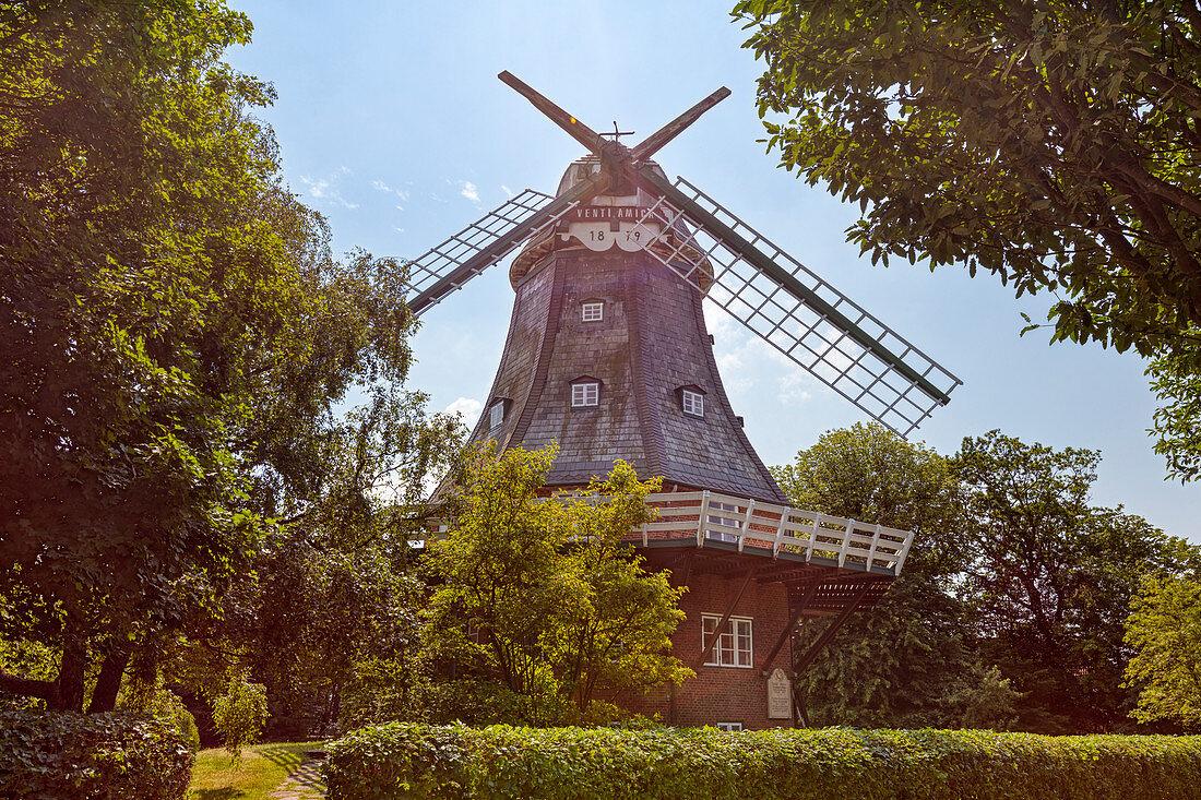 Windmill Venti Amica, Wyk, Föhr, Scheswig-Holstein, Germany
