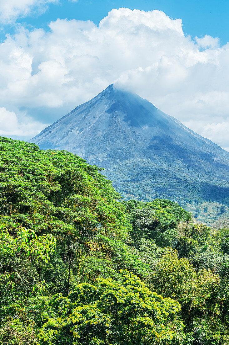 Arenal volcano, Arenal Volcano National Park, La Fortuna, Costa Rica